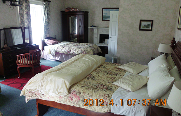 Large family rooms available